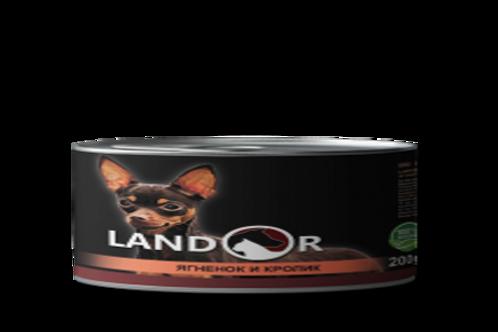 Вологий корм для дорослих собак малих порід ягня з кроликом
