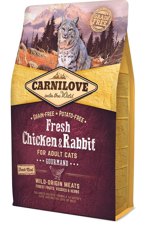 Carnilove Fresh Chicken & Rabbit – Gourmand 2kg
