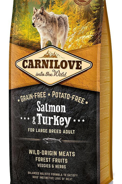 Carnilove Salmon & Turkey Large Breed для великих порід Лосось з індичкою