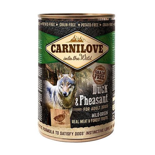Carnilove Dog з качкою і фазаном