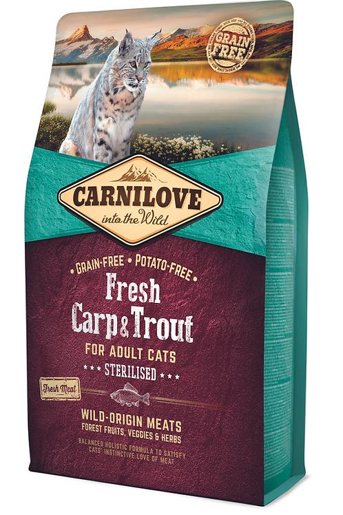 Carnilove Fresh Carp & Trout – Sterilised 2kg
