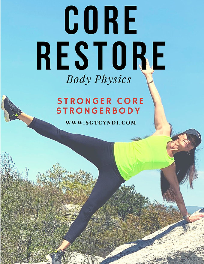 Sgt. Cyndi restore your core E-Book-4-16