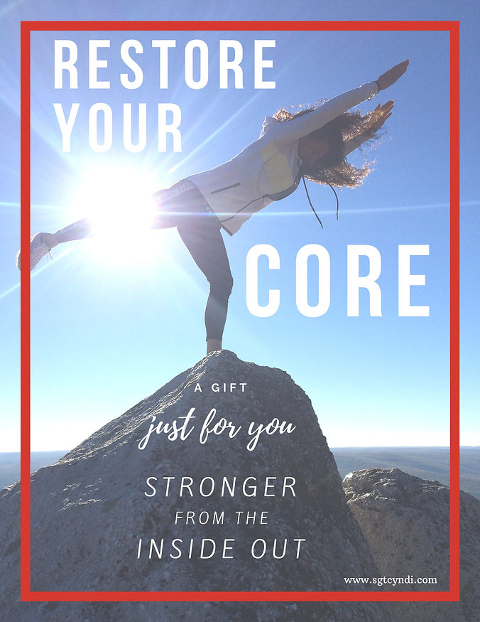 Sgt. Cyndi restore your core E-Book-4-01