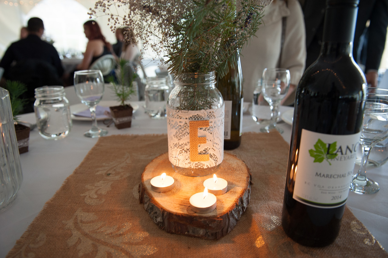 Log Slice Centerpieces