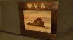 Reclaimed Wood Virginia Sign