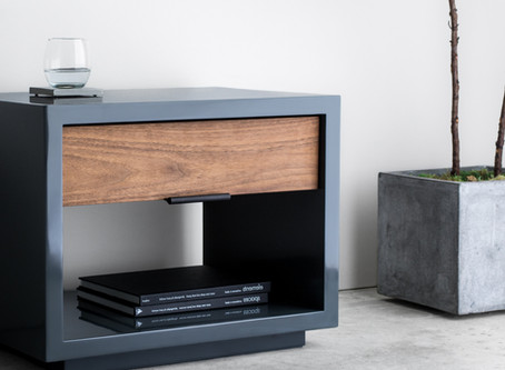 The Lacquered Nightstand