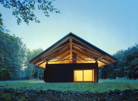 Saint-Hubert wooden lodge