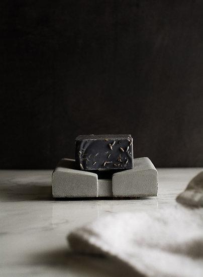 Komolab modern concrete soap dish