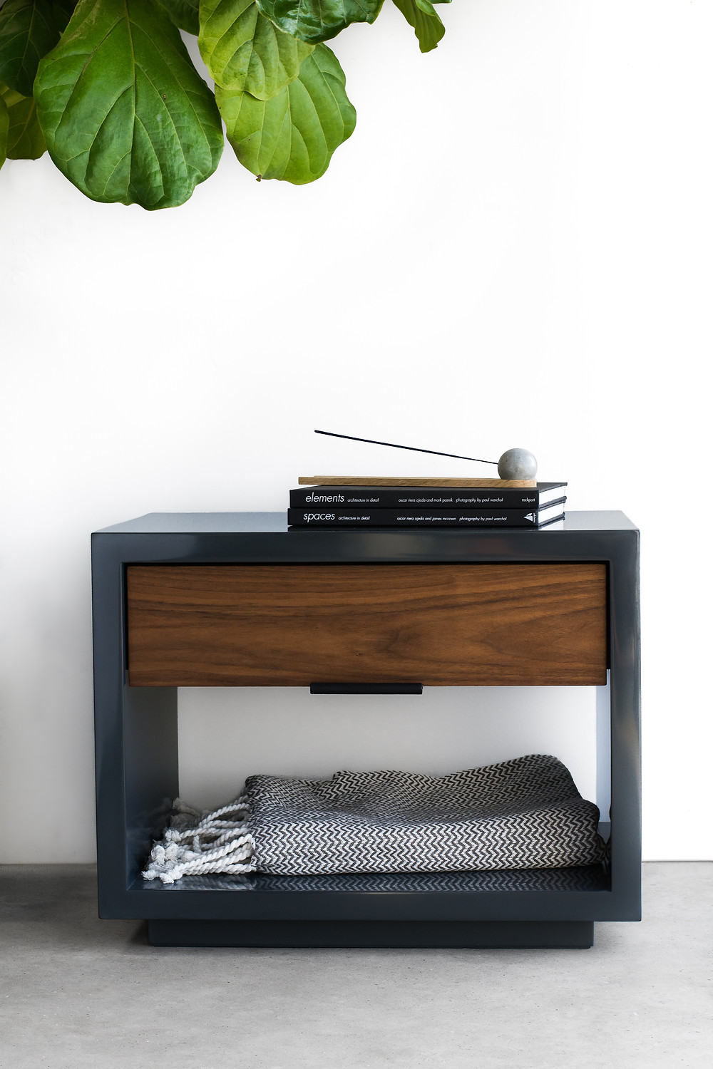 Modern lacquer nightstand