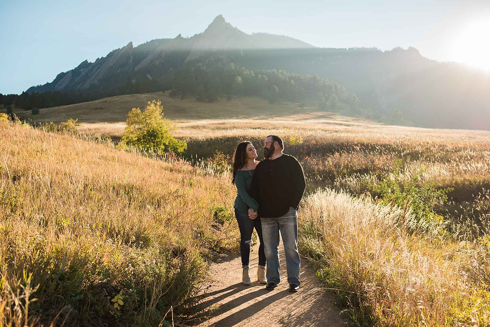 Boulder Chautauqua Engagement Photographer