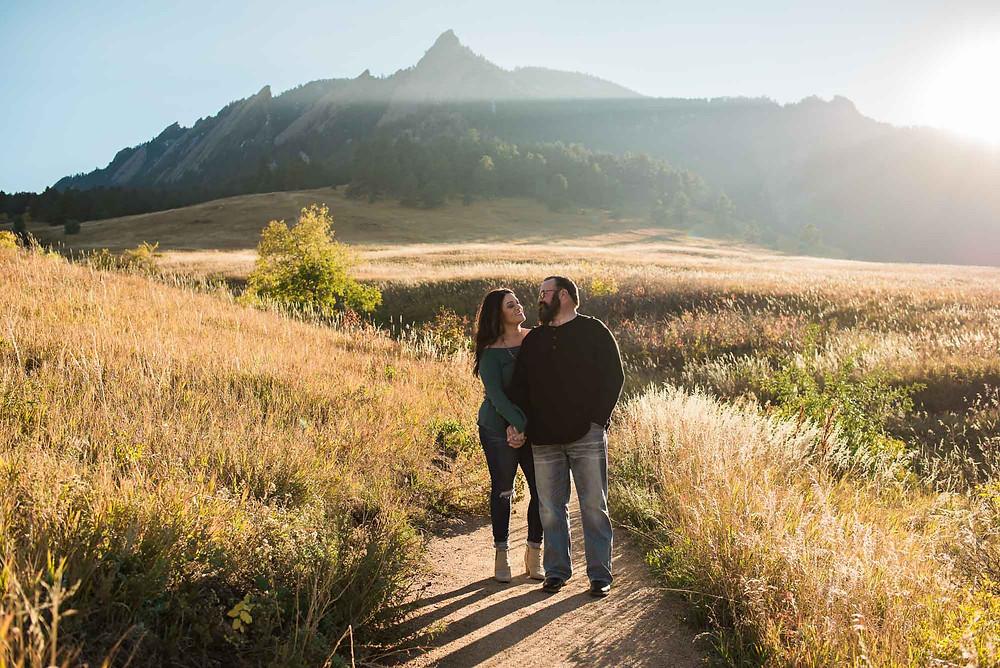 Boulder Chautauqua Engagement Photographer