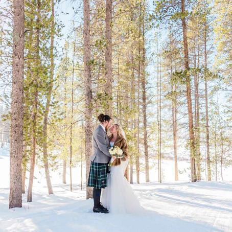 Ali & Kelton's Scottish Winter Wedding