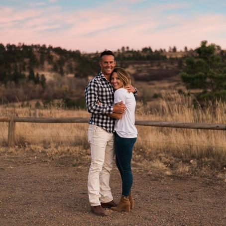 Kris & James' South Mesa Trail Couples Session