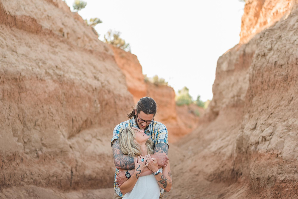 Taos Desert Engagement Session