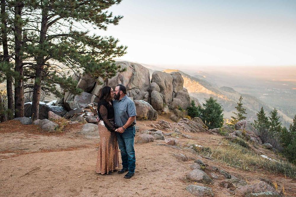 Boulder Flagstaff Engagement Photo Location