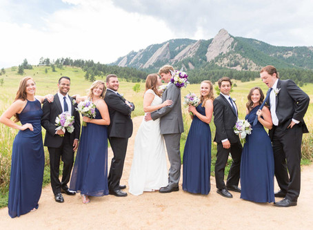 Amanda & Nic's Wedgewood Boulder Wedding