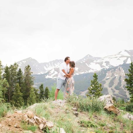 Cara & Taylor's Breckenridge Engagement