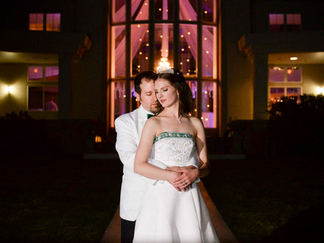 Ashley & Jeff's Fairytale Chateaux Wedding