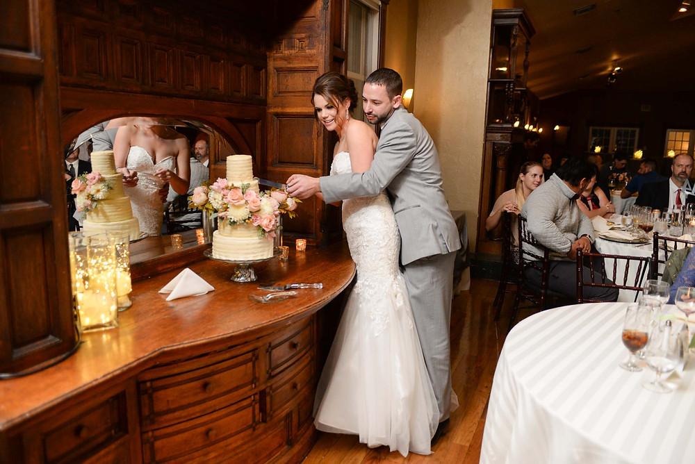 Wedding Cake Cutting Lionsgate Event Center Colorado