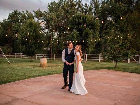 Lindsey & Denys' Colorado Winery Wedding
