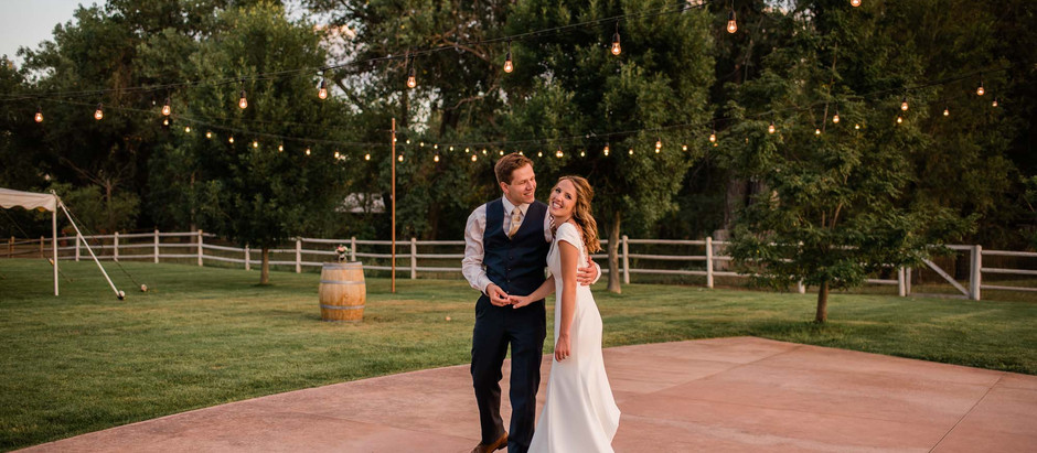 Lindsey & Denys' Colorado Winery Wedding