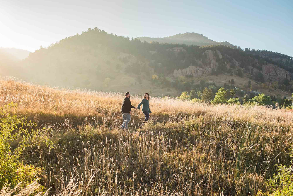 Colorado Wheat Field Engagement Session
