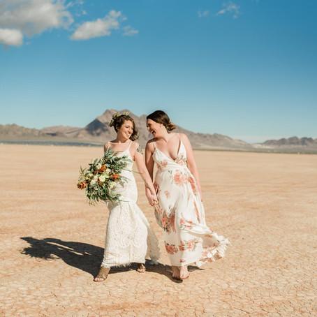 Styled Las Vegas Desert Elopement