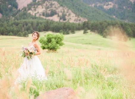 Local Bridal Inspiration in Boulder, Colorado