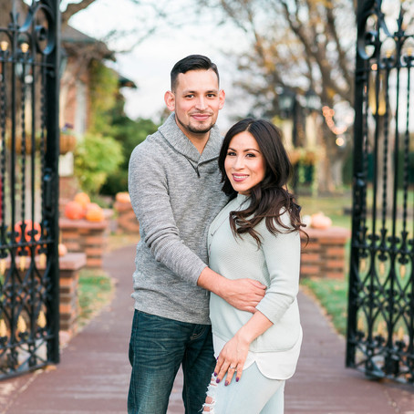 Lucy & Jose's Fall Engagement Session at Lionsgate