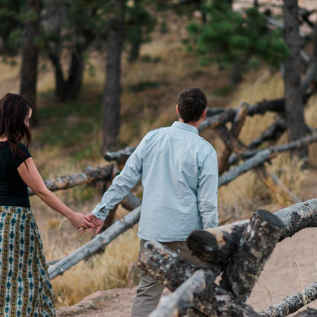 Kelley & Dave's Lost Gulch Engagement
