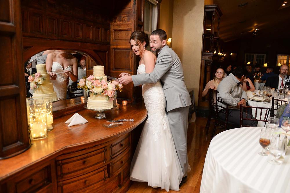 Wedding Cake Cutting Lionsgate Lafayette Colorado