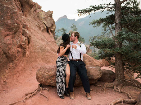 Cece & Tom's Flagstaff Anniversary Session