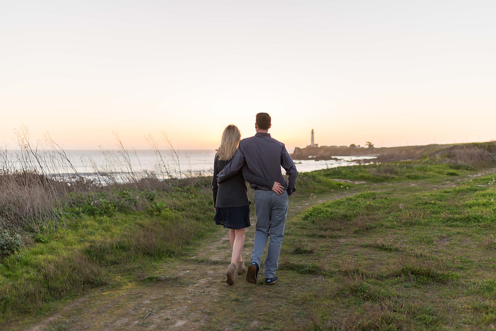 Pigeon Point Lighthouse Engagement Session