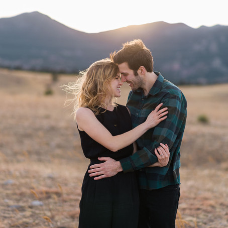 Emily & Rudy's Winter Engagement Session