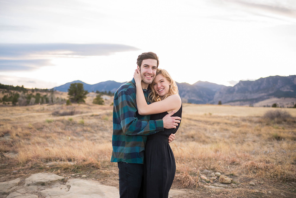 Rocky Mountain Foothills Engagement