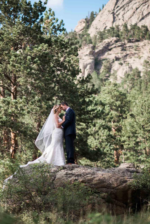 Estes Park Bride and Groom Photos