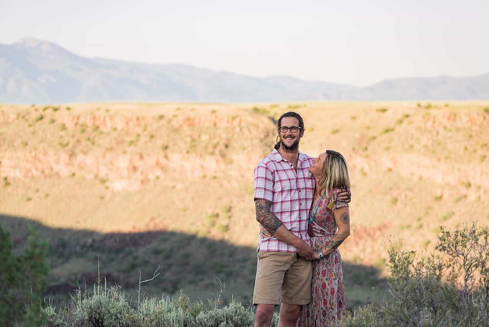 August Engagement Session in Taos