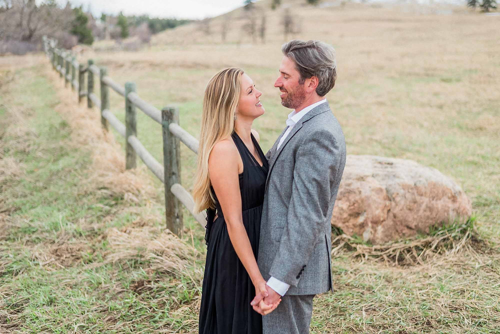 Film Inspired Engagement Session in Colorado