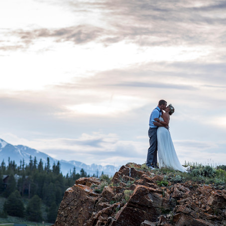 Julie & Tyler's Keystone Ranch Wedding