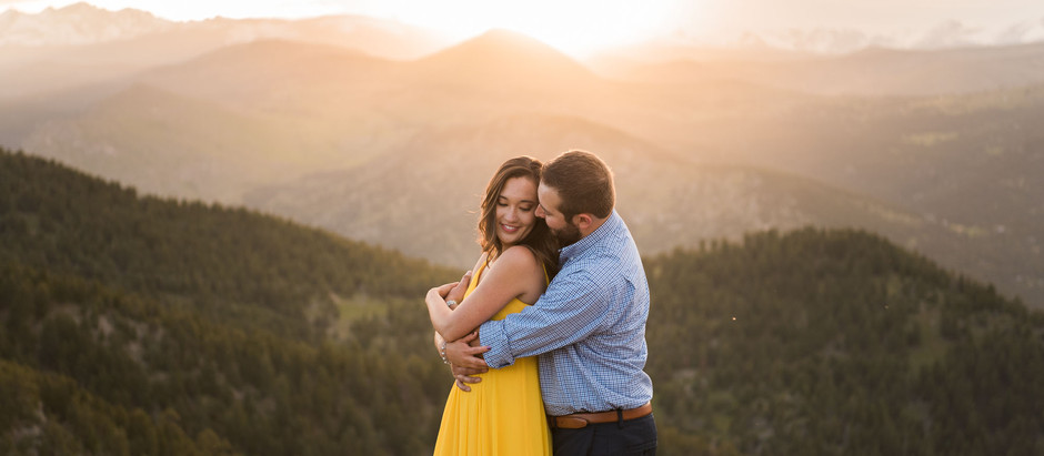 Kelly & Andrew's Lost Gulch Overlook Engagement