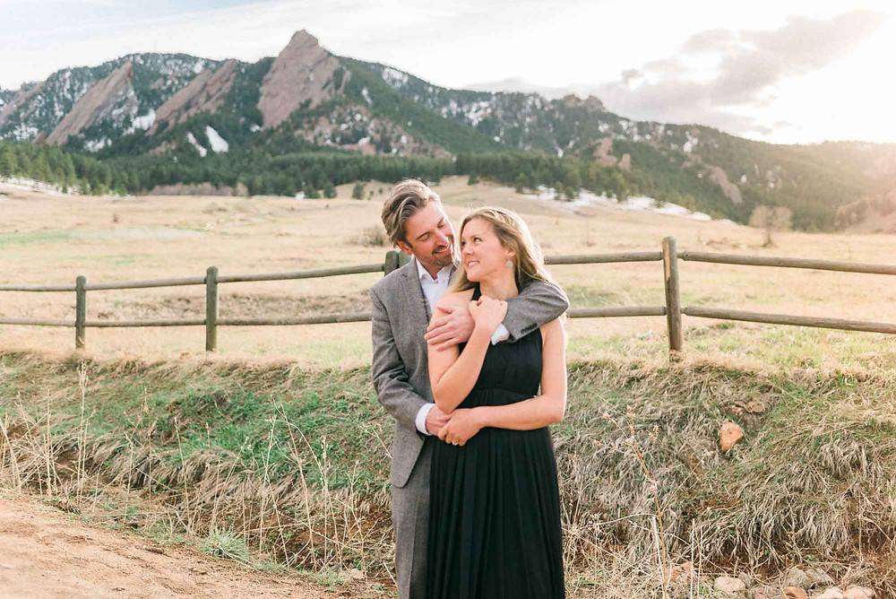 Film Look Engagement Photography in Boulder Colorado