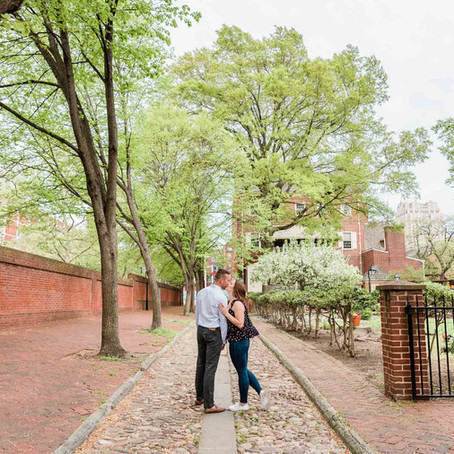 Shannon & Tommy's Old City Philadelphia Engagement