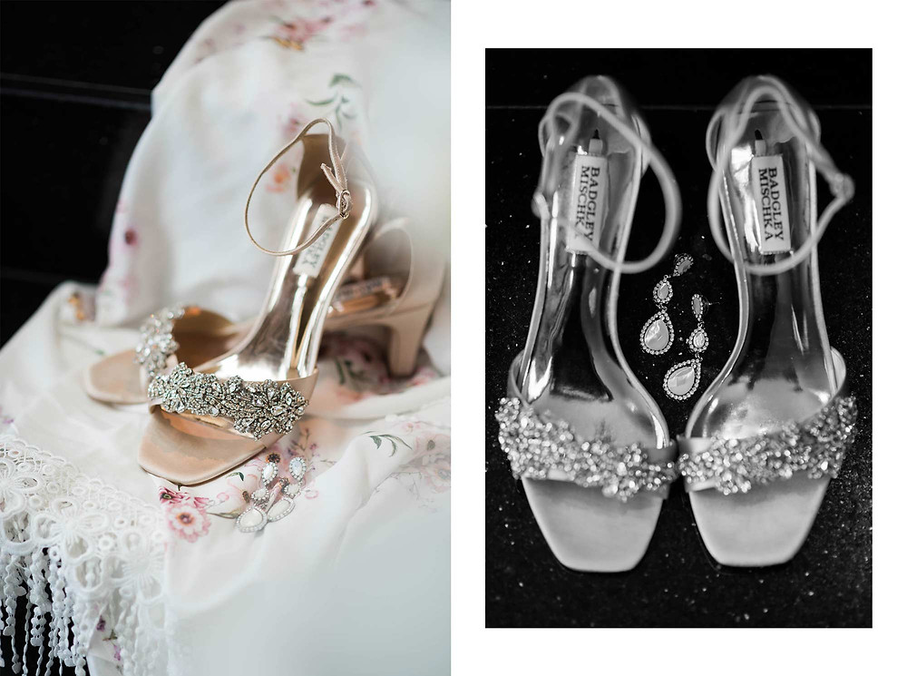 Champagne Color Badgley Mischka Bridal Shoes