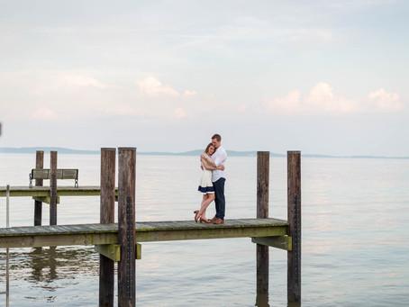 Kat & Ben's Havre de Grace Lighthouse Engagement