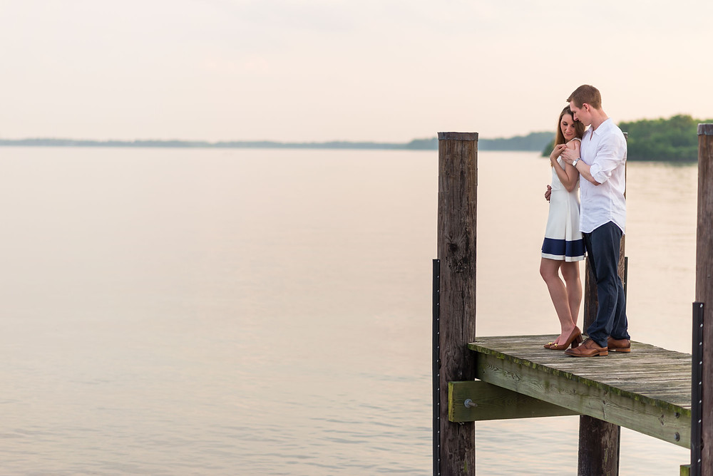 Havre de Grace Pier Couple Photos