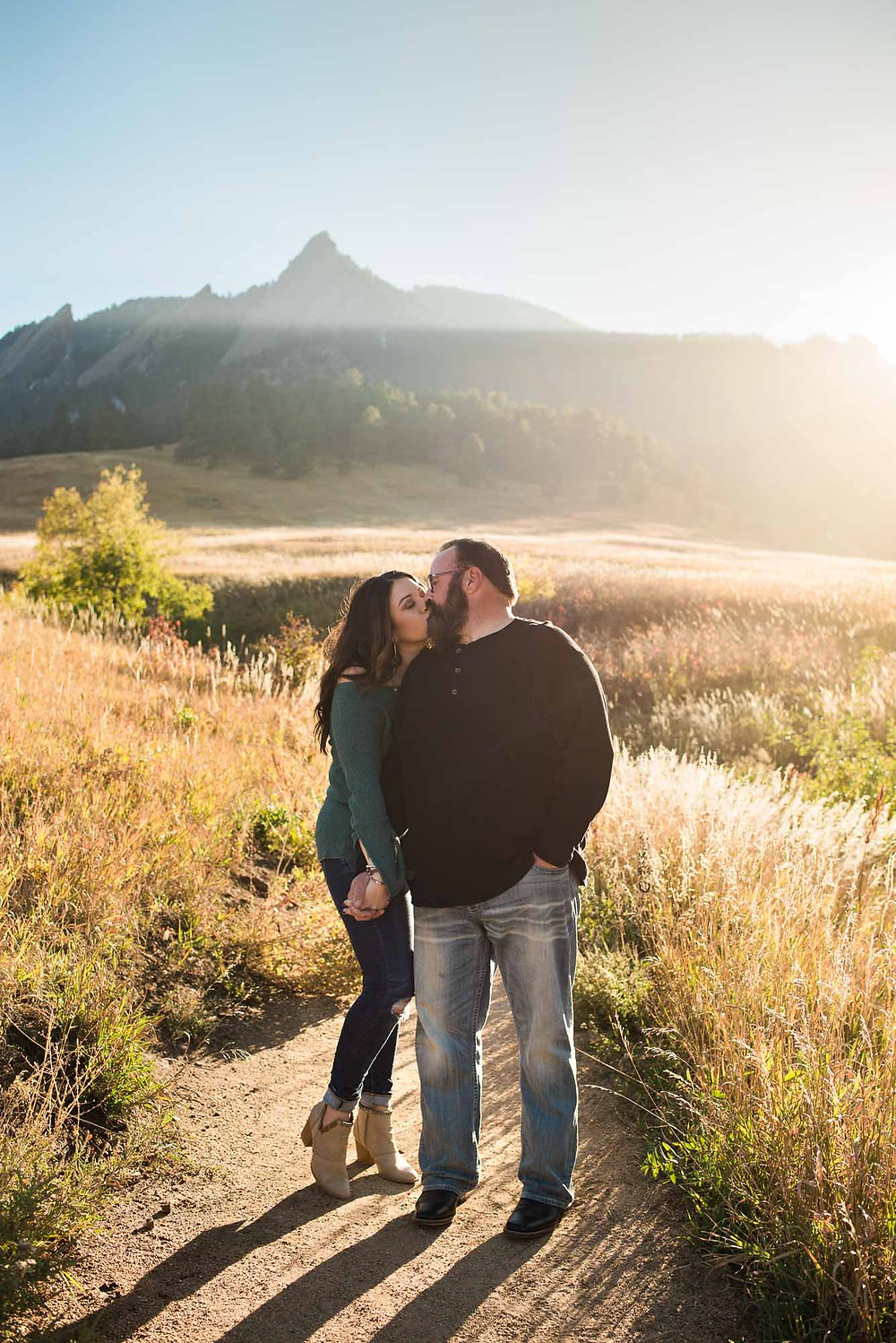 Boulder Colorado Fall Engagement Photographer