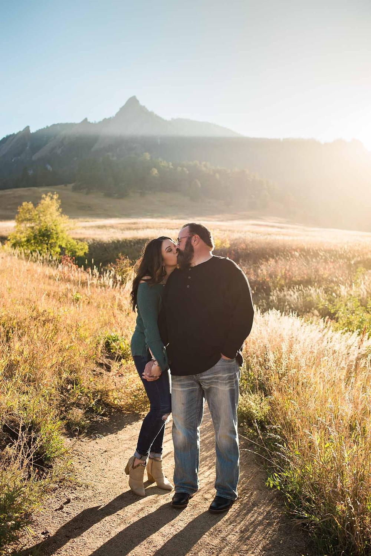 Boulder Colorado Fall Engagement Photographer