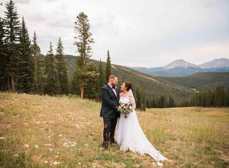 Rita & Zach's Timber Ridge at Keystone Wedding