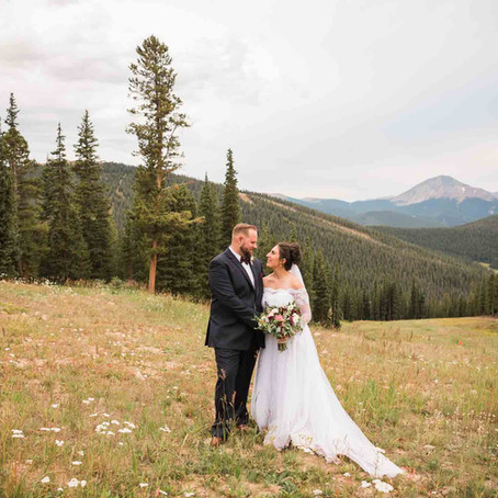 Rita & Zach's Timber Ridge at Keystone Wedding