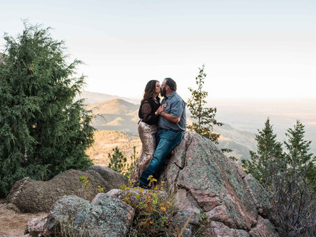 Courtney & Dwight's Boulder Engagement